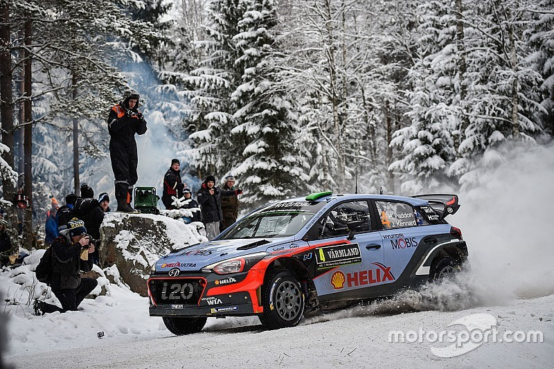 Paddon impressed with speed of new-spec Hyundai