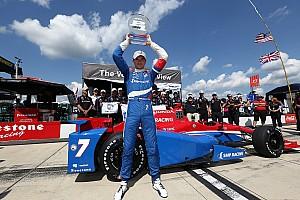 IndyCar Qualifying report Aleshin wins his first IndyCar pole