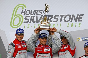 WEC Breaking news Audi excluded from Silverstone WEC win for worn skidblock