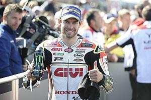 MotoGP Breaking news Crutchlow: I deserve more support from Honda