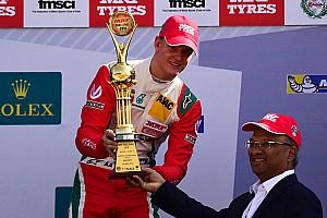 Indian Open Wheel Résumé de course Déjà deux victoires pour Mick Schumacher en MRF