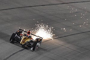 IndyCar Breaking news Hinchcliffe penalized for domed skid wear at Texas
