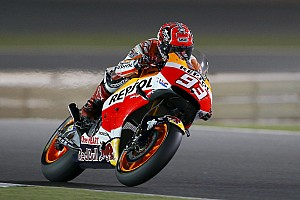 MotoGP Qualifying report Marquez clinches front row in Qatar