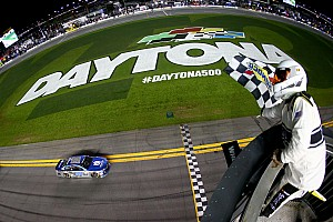NASCAR Sprint Cup Race report Dale Earnhardt Jr. wins Duel #1