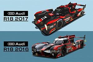 WEC Аналитика Анализ: как выглядела бы машина Audi в 2017 году