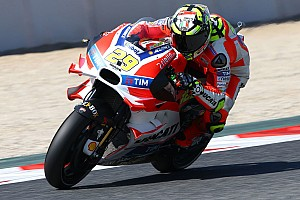 MotoGP Practice report Iannone eighth and Dovizioso tenth on first day of free practice for Catalan GP at Montmeló