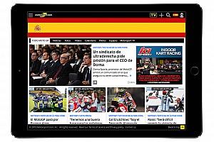 موتورسبورت.كوم يطلق نسخة رقمية جديدة باللغة الإسبانية