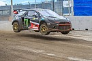World Rallycross Solberg escapes serious injury in freak finish line crash