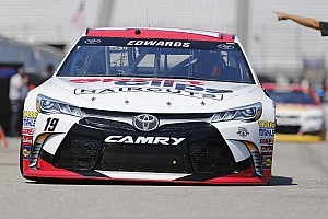 NASCAR Sprint Cup Breaking news Edwards loses pit stall selection for Sunday's race