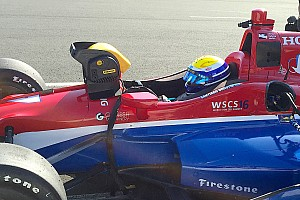 IndyCar Breaking news Urrutia impressed with first taste of IndyCar