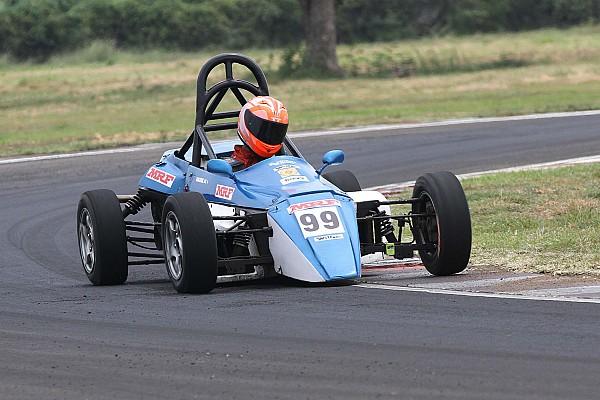 Indian Open Wheel Breaking news Rangasamy beats Ram to clinch F1300 title