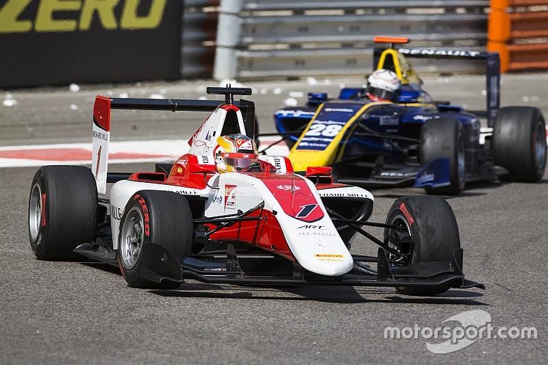 Abu Dhabi GP3: Leclerc champion as both title contenders crash