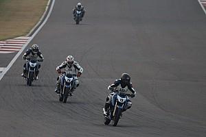 Other bike Race report Buddh TVS Apache 200: Prashant, Shankar take wins in Round 4
