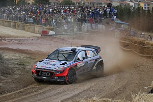 WRC Leg report Italy WRC: Neuville leads Latvala after Friday morning loop