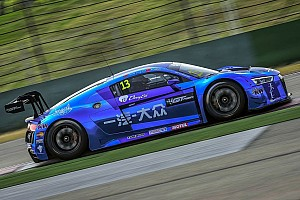 Asian GT Practice report Audis on top early in GT Asia Series Shanghai showdown