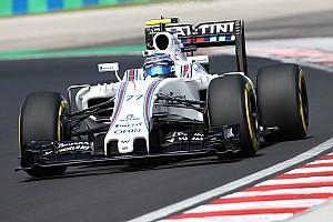 Formula 1 Breaking news Bottas to run Williams' new floor in FP3