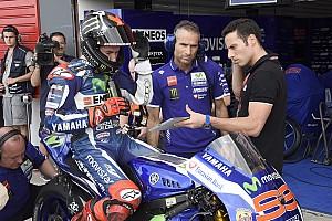 MotoGP Practice report Jerez MotoGP: Lorenzo tops first practice as Barbera stars