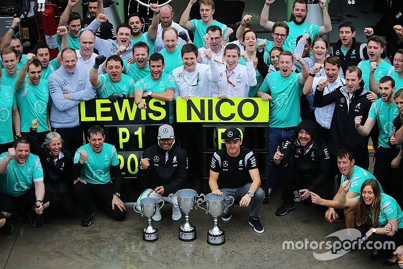 Mercedes: Team spirit