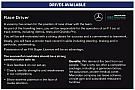Mercedes places classified advert for F1 race driver in Autosport