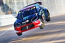 World Rallycross Solberg disqualified from Q2 after clash with Ekstrom in Latvia