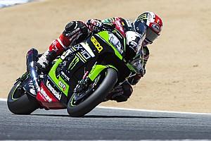 World Superbike Race report Laguna Seca WSBK: Rea scores Race 1 win as both Ducatis crash