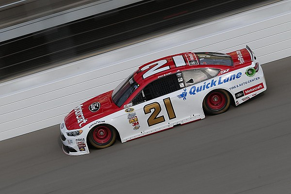 NASCAR Sprint Cup Blaney and Wood Brothers enjoy one of their