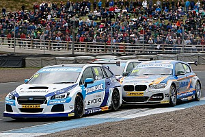 BTCC Breaking news Subaru team responds to ongoing BTCC engine equivalency debate
