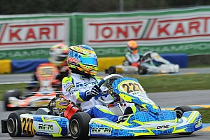 Kart Race report Sargeant dominates Round 3 of WSK Super Masters
