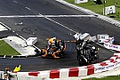 General Wehrlein unhurt in dramatic Race Of Champions flip