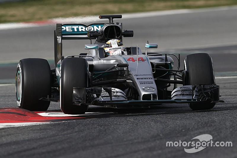 Hamilton says move towards heavier F1 cars is