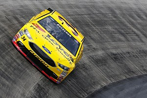 NASCAR Sprint Cup Breaking news Buescher earns provisional spot in the Chase with top five finish