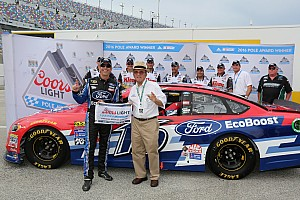 NASCAR Sprint Cup Qualifying report Greg Biffle takes surprise pole at Daytona