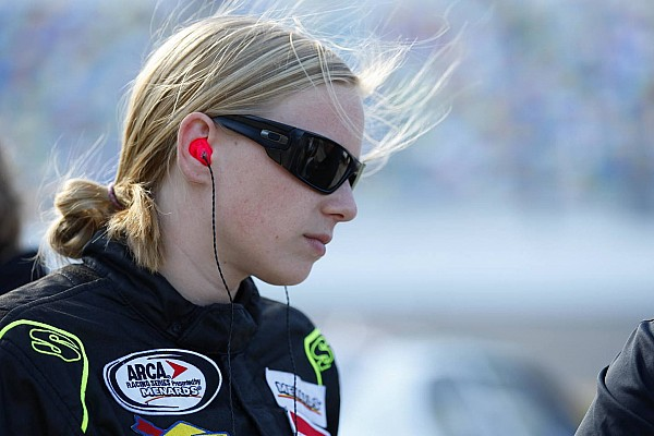ARCA Breaking news Sarah Cornett-Ching faces long road back from concussion