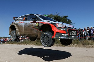 WRC Leg report Hayden Paddon takes lead in Argentina on strong Saturday for Hyundai Motorsport