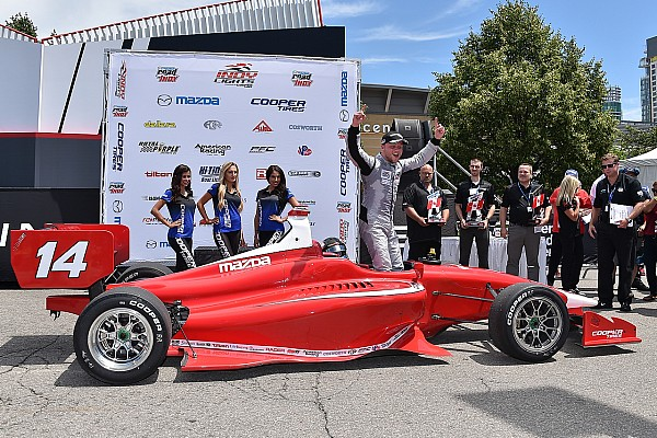 Indy Lights Race report Rosenqvist completes perfect weekend in Toronto