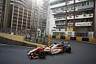 Macau GP: Rosenqvist fastest, Habsburg shunts in first practice
