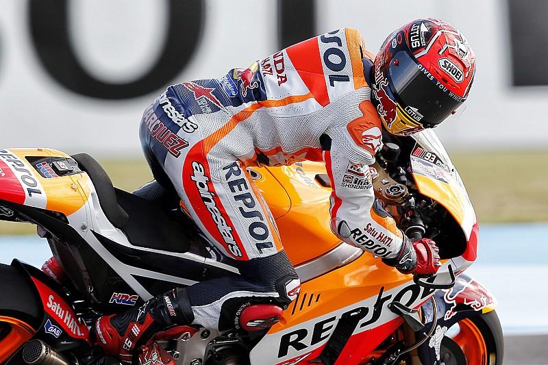 Argentina MotoGP: Marquez grabs pole amid tyre drama