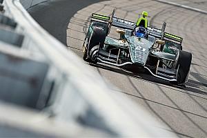 """IndyCar Breaking news Newgarden: Iowa race """"was like a video game"""""""
