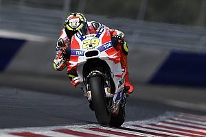 MotoGP Practice report Austria MotoGP: Iannone leads Dovizioso in morning warm-up