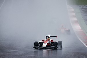 GP3 Breaking news Leclerc gets Silverstone grid drop for Calderon crash