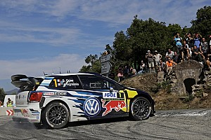 WRC Leg report Corsica WRC: Ogier stretches lead, Meeke crashes out