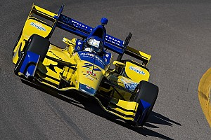 IndyCar Testing report Andretti tops Phoenix evening test session
