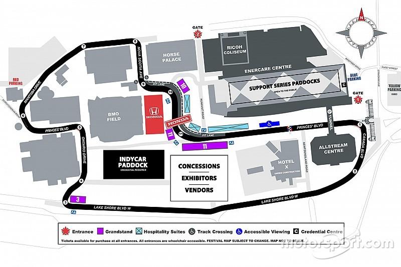 New pit lane design revealed for Toronto