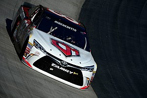 NASCAR Sprint Cup Breaking news DiBenedetto and team in tears after outstanding Bristol result