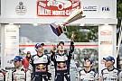 WRC Monte Carlo victory a
