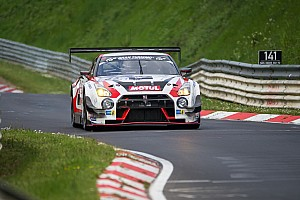 Endurance Race report Nissan battles rivals and the weather in Nurburgring 24 Hour
