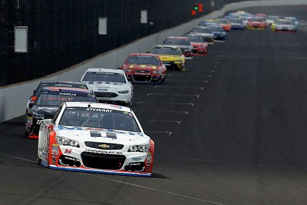 NASCAR Sprint Cup Stewart enjoys