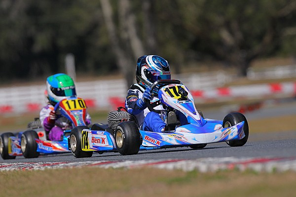 Kart OGP trio take top spots in qualifying for Florida Winter Tour ROK Cup