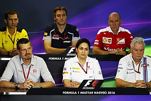 Formula 1 Press conference Hungarian GP: Friday's press conference
