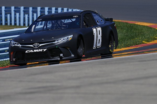 """NASCAR Sprint Cup Repaved WGI producing """"hold your breath"""" moments for drivers"""